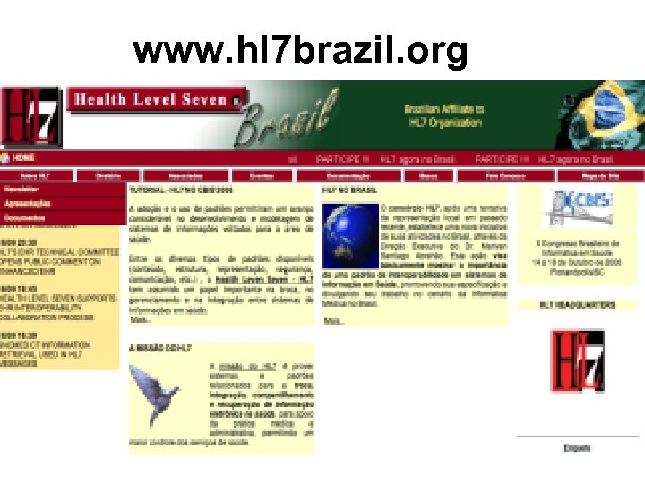 www. hl 7 brazil. org