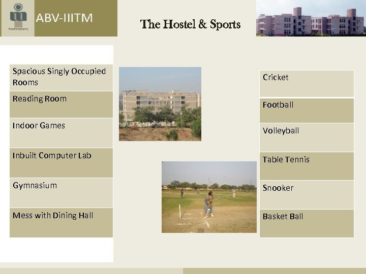 The Hostel & Sports Spacious Singly Occupied Rooms Reading Room Indoor Games Cricket Football