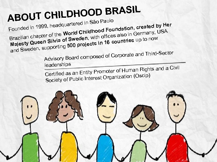 OOD BRASIL ABOUT CHILDH o Paulo uartered in Sã y Her eadq ed in