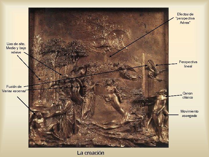 """Efectos de """"perspectiva Aérea"""" Uso de alto, Medio y bajo relieve Perspectiva lineal Fusión"""