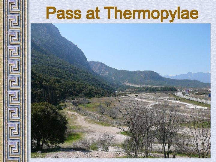 Pass at Thermopylae