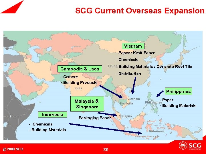 SCG Current Overseas Expansion Vietnam - Paper : Kraft Paper - Chemicals - Building