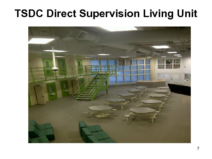 TSDC Direct Supervision Living Unit 7