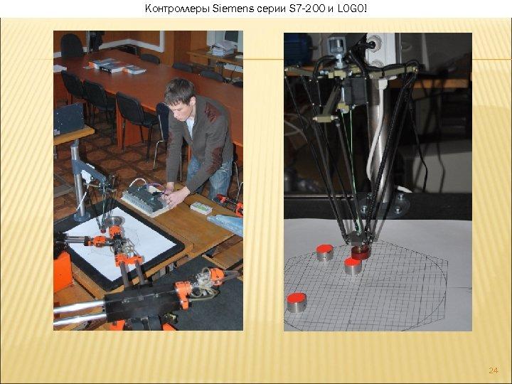 Контроллеры Siemens серии S 7 -200 и LOGO! 24