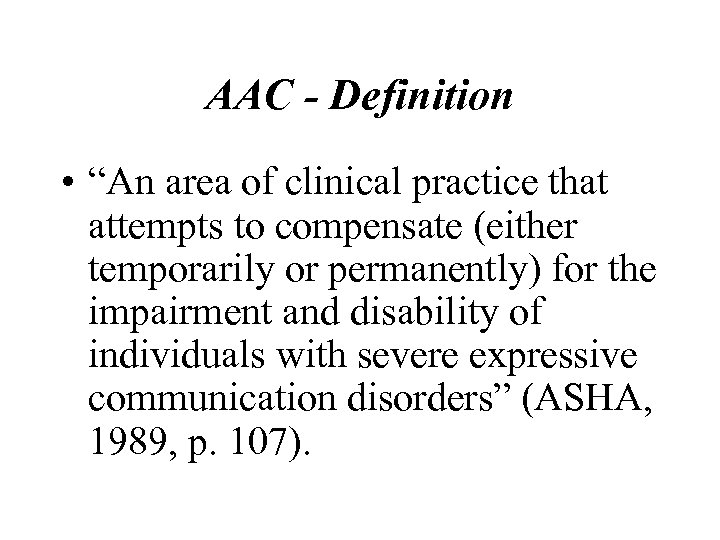 Augmentative Alternative Communication AAC Assessment Sourcebook Alexa