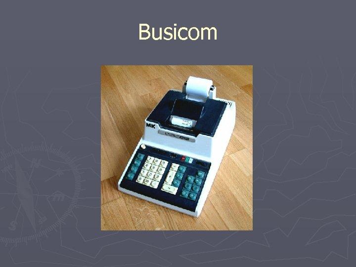 Busicom