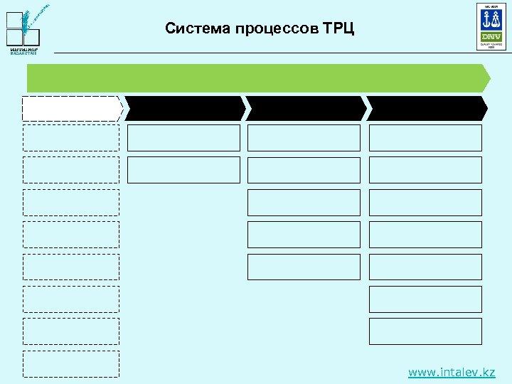 Система процессов ТРЦ www. intalev. kz