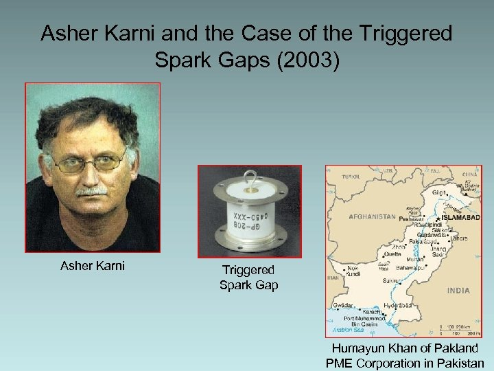 Asher Karni and the Case of the Triggered Spark Gaps (2003) Asher Karni Triggered