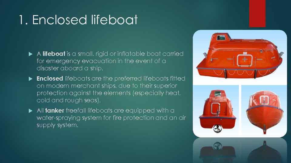 Shipboard lifeboat A PRESENTATION BY URIUMOV O