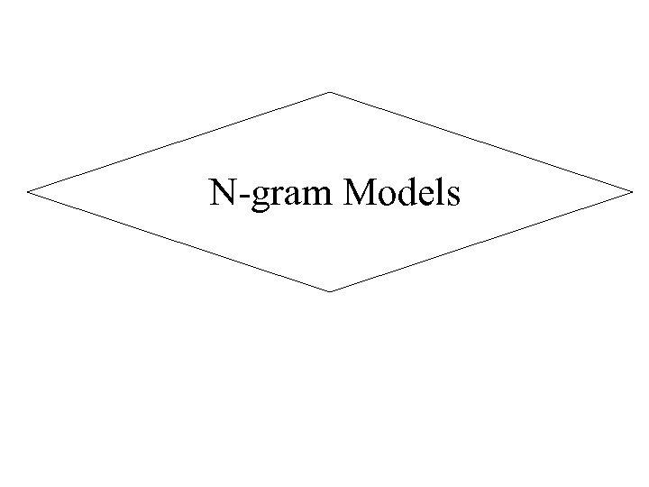 N-gram Models