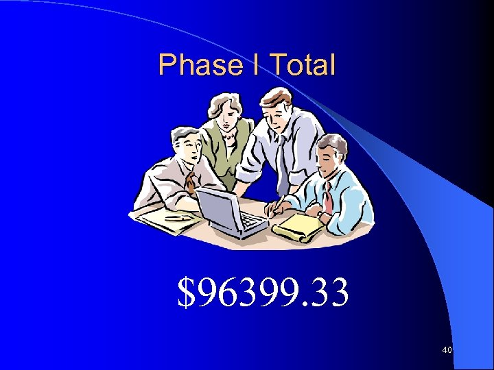 Phase I Total $96399. 33 40