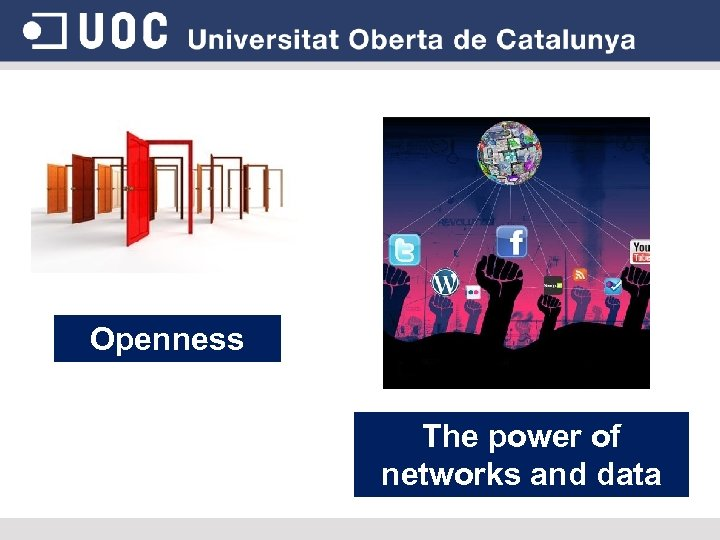 Openness The power of networks and data