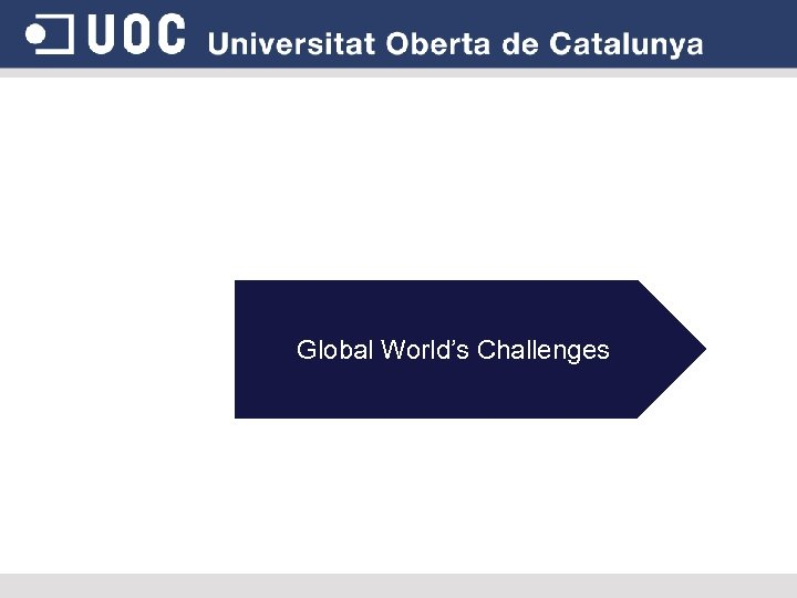 Global World's Challenges