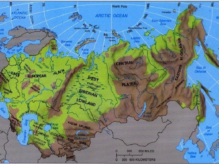 Russia F Background Russia and newly independent on