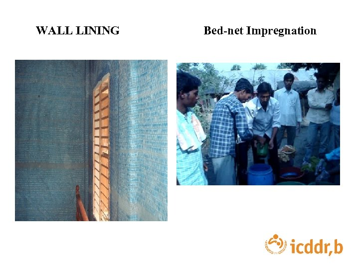 WALL LINING Bed-net Impregnation