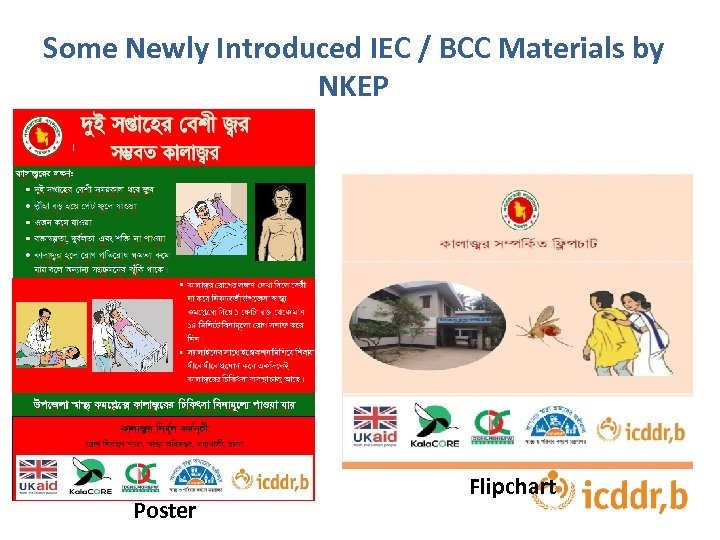 Some Newly Introduced IEC / BCC Materials by NKEP Poster Flipchart