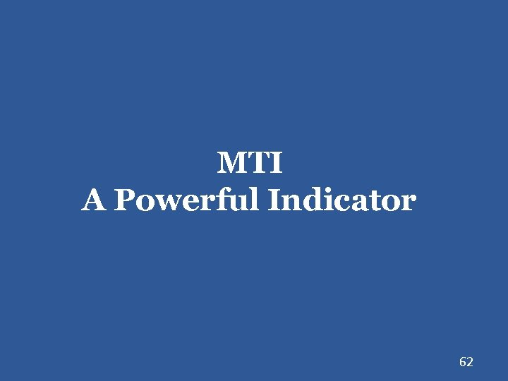 MTI A Powerful Indicator 62