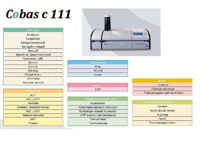 Cobas c 111