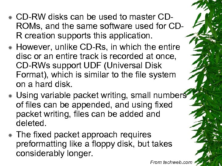 CD-RW disks can be used to master CDROMs, and the same software used