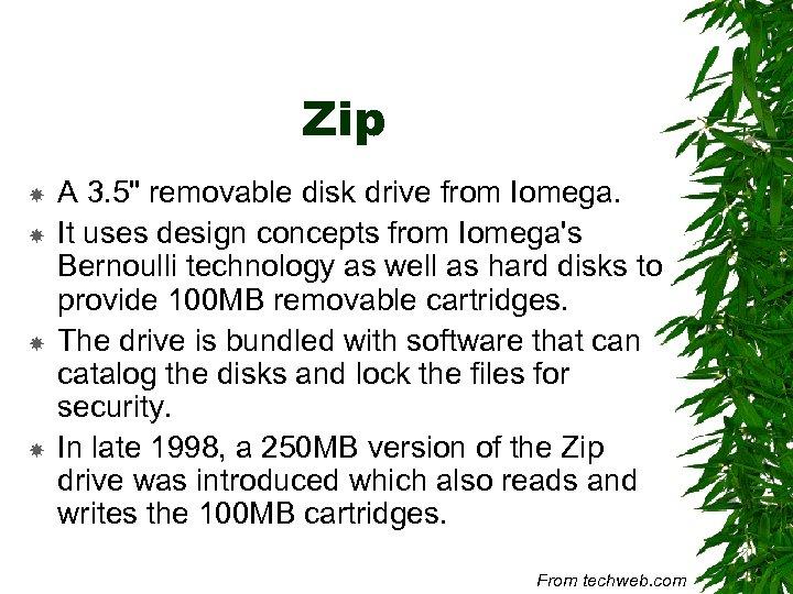 Zip A 3. 5