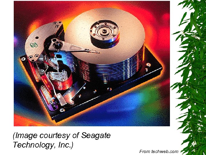 (Image courtesy of Seagate Technology, Inc. ) From techweb. com