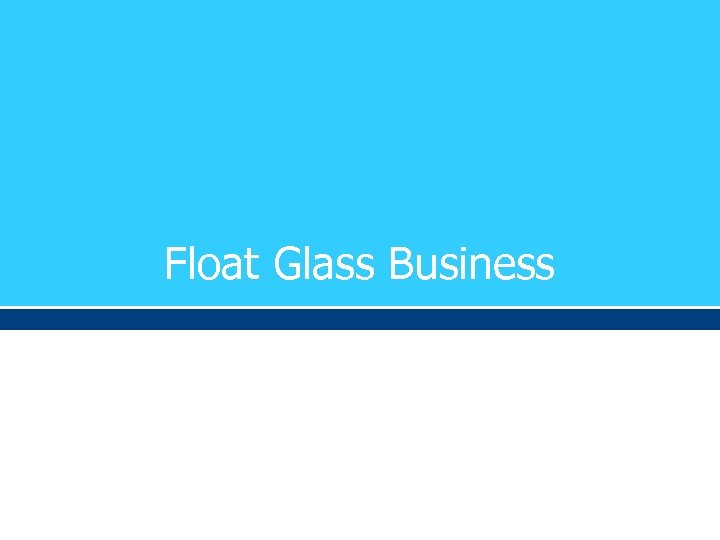 Float Glass Business
