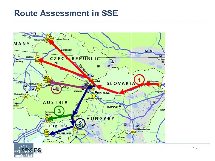 Route Assessment in SSE Gas Regional Initiative – Region: South-South East, Assessment on selected