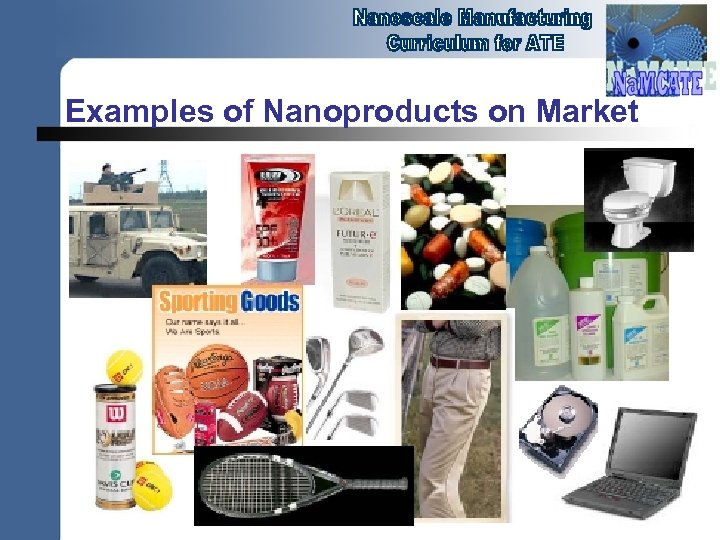 Examples of Nanoproducts on Market