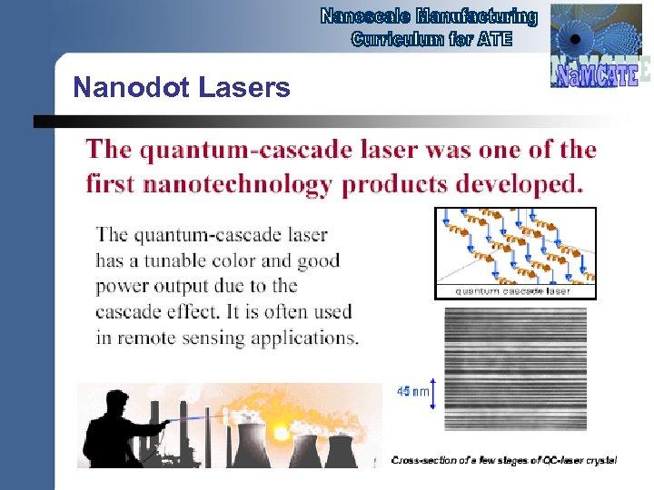 Nanodot Lasers