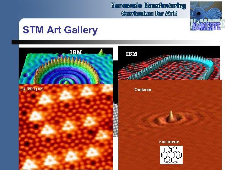 STM Art Gallery IBM Li, PRL(02) IBM Omicron coronene