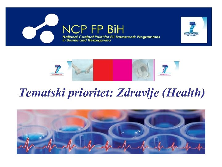 Tematski prioritet: Zdravlje (Health)