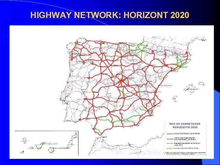 HIGHWAY NETWORK: HORIZONT 2020