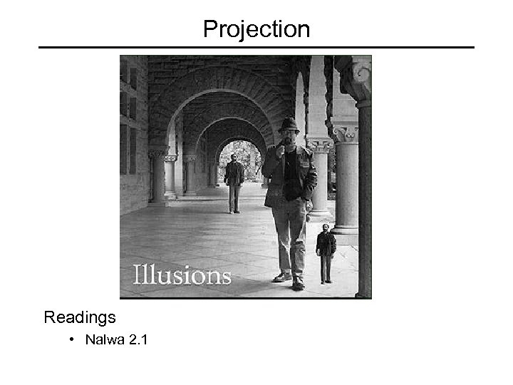Projection Readings • Nalwa 2. 1