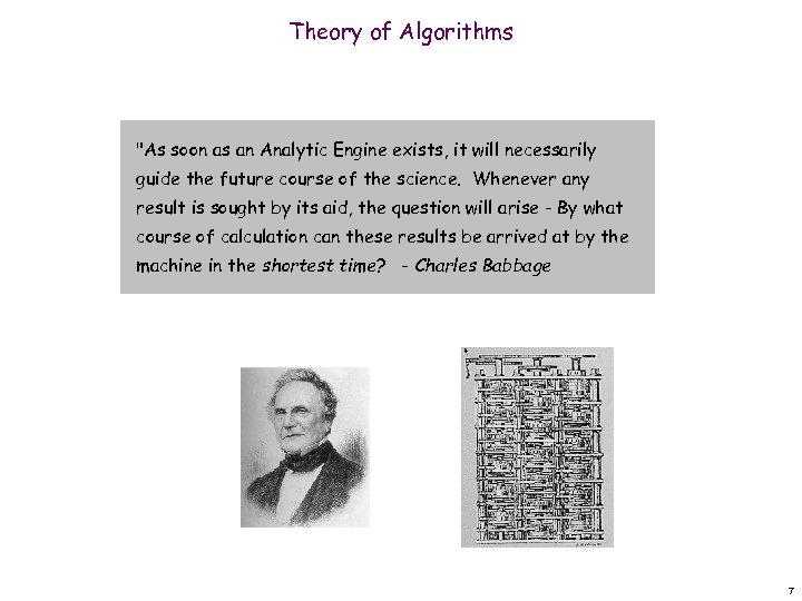 Theory of Algorithms