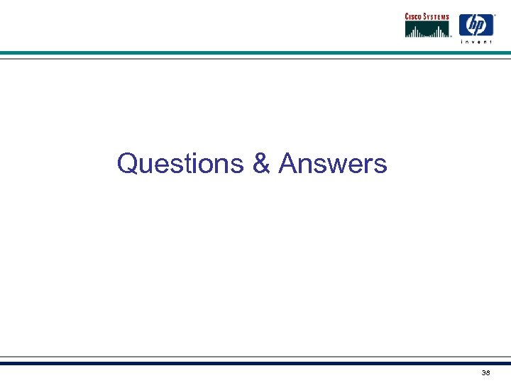Questions & Answers 38