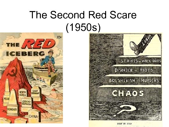 The Second Red Scare (1950 s)