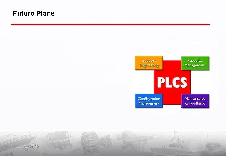 Future Plans PLCS Inc. (c) 2002