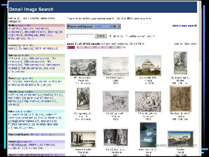 M. Hearst Faceted Metadata in Search