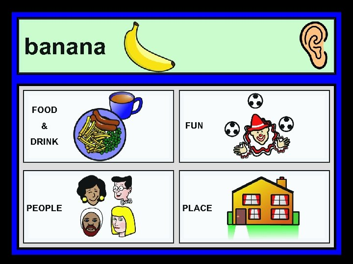banana FOOD & FUN DRINK PEOPLE PLACE