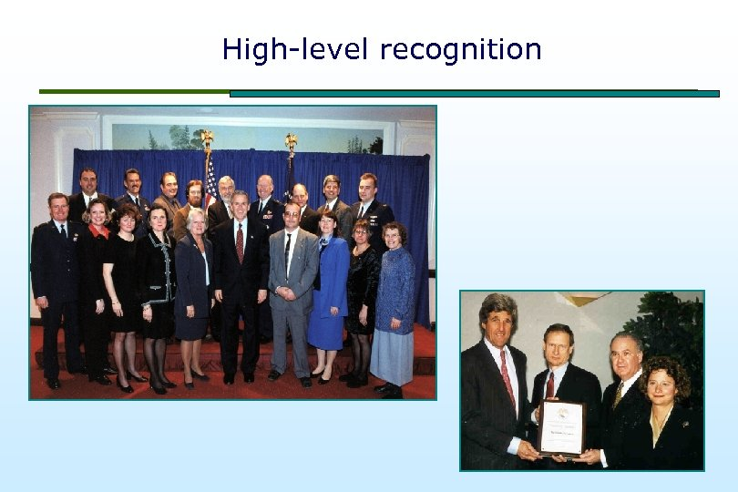 High-level recognition