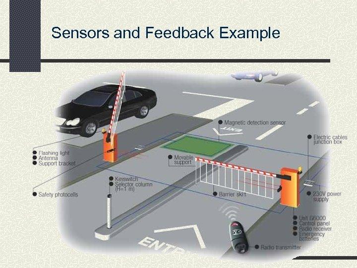 Sensors and Feedback Example