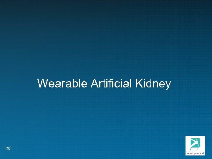 Wearable Artificial Kidney 26