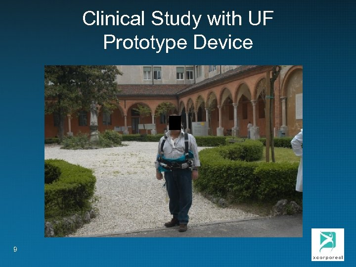 Clinical Study with UF Prototype Device 9