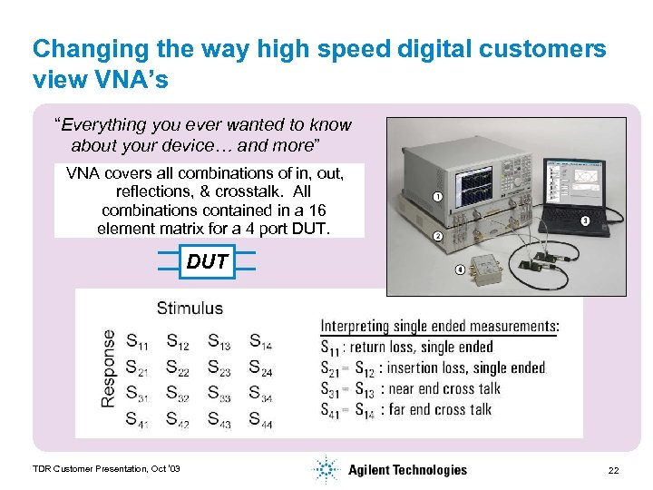 """Changing the way high speed digital customers view VNA's """"Everything you ever wanted to"""