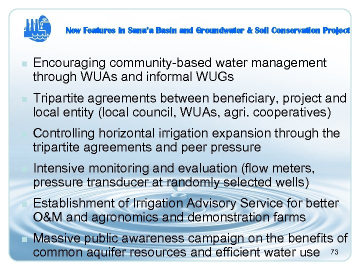 community based water resources management some In national planning, integrated catchment management and integrated water resource management are now synonymous with integrated management of land, water, and forest resources at river catchment scales, typically 5000-500,000 km 2 the boundary ascribed in this case is always the physical watershed, or the boundary of the catchment.