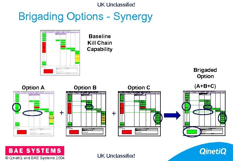 UK Unclassified Brigading Options - Synergy 26 Baseline Kill Chain Capability Brigaded Option Search