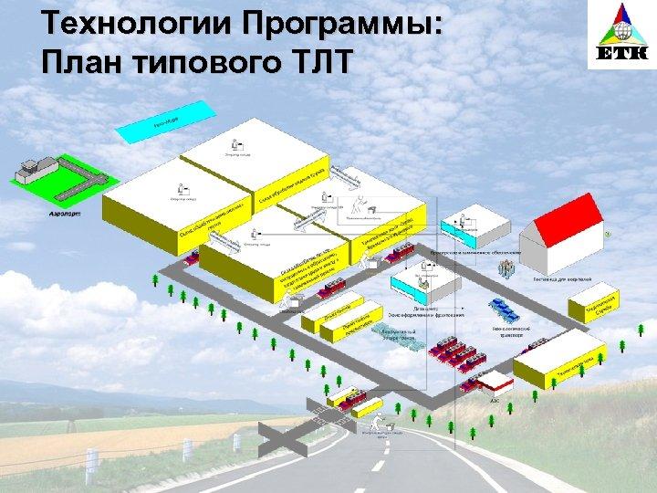 Технологии Программы: План типового ТЛТ