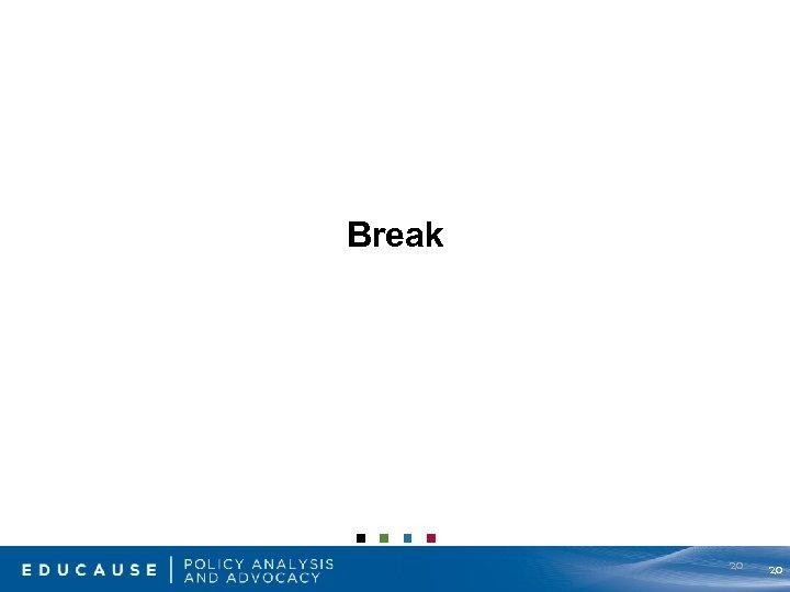 Break 20 20