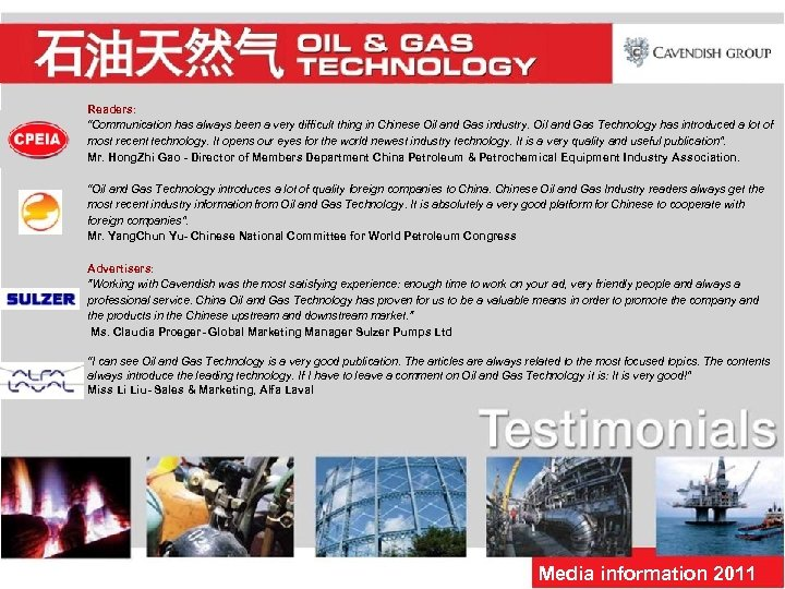 "Readers: ""Communication has always been a very difficult thing in Chinese Oil and Gas"