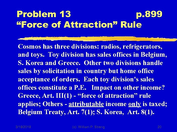 "Problem 13 p. 899 ""Force of Attraction"" Rule Cosmos has three divisions: radios, refrigerators,"